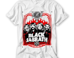 Camiseta Banda de Rock Black Sabbath