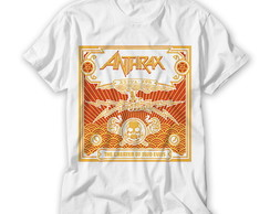 Camiseta Banda de Rock - Anthrax