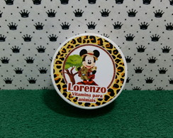 Latinha mickey safari