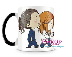 Kit Caneca Col + Camiseta - Grey's Anatomy