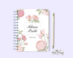Bullet Journal Floral personalizado