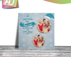 Azulejo 20x20 Personalizado Presente Natal  f6d8e2565c01a