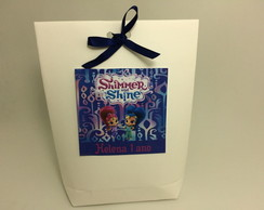 Saquinhos de Papel Tema Shimmer and Shine