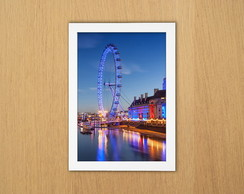 Quadro Londres (London Eye)