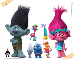Kit Display para Festa Infantil Trolls