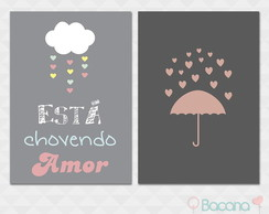 Kit Quadro Decorativo - Amor