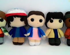 Boneco Pocket Felt - Kit Stranger Things