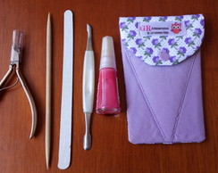 Porta Alicate - Kit Manicure