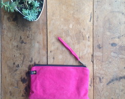 Clutch Mini # 2 Camurca pink