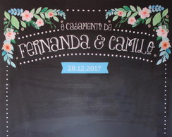 Backdrop Simplificado - Chalkboard