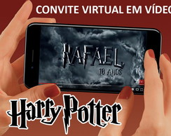 Convite Virtual Harry potter