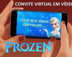 Convite Virtual Frozen