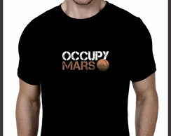 Camiseta Geek Occupy Mars