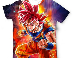 4 Camisa Camiseta Dragon Ball Estampa Frete e Costa