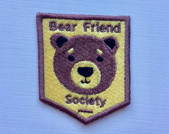 PATCH TUMBLR BEAR FRIEND SOCIETY TERMOCOLANTE