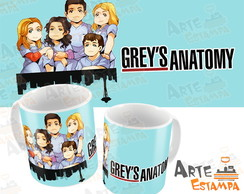 Caneca You Are My Person Grey's Anatomy Mertina Serie