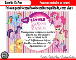 convite my little pony