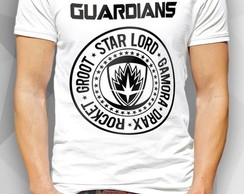 Camiseta - GUARDIANS OF - Masc Fem BW