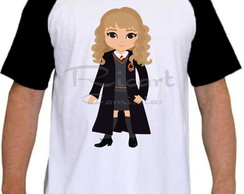 Camiseta Raglan Harry Potter Hermione Mod 03