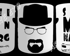 "CANECA BREAKING BAD ""HEISENBERG"""