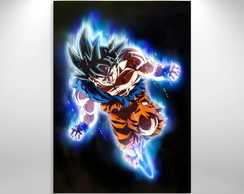 Placa decorativa Dragon ball goku instinto superior