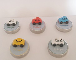 Latinha Mint to Be Personalizada ( Carros)