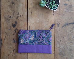 Clutch Mini Cashmere Roxo