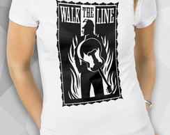 Camiseta - WALK THE LINE - Masc Fem BW