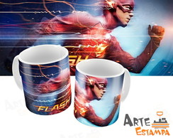 Caneca The Flash Serie Series Herói Personalizada Filme
