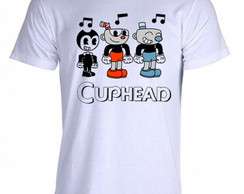 Camiseta cuphead bendy game run and gun 001