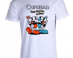 Camiseta cuphead bendy game run and gun 009