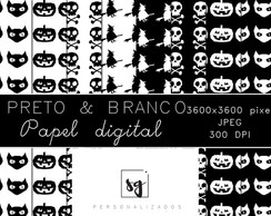 Papel Digital (Preto e Branco)