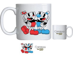 Caneca de Porcelana cuphead bendy game 004