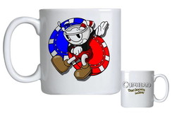 Caneca de Porcelana cuphead bendy game 007