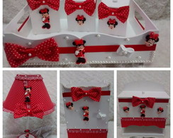 Kit de Higiene Minnie Vermelha