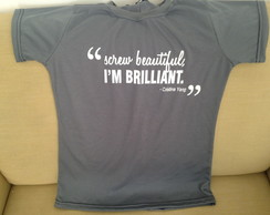 Camiseta Frase Grey's Anatomy