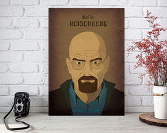 Placas Decorativas Quadro MDF 3mm - Breaking Bad