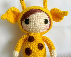 Boneca amigurumi- boneca crochê (boneca de boina) (com imagens ...   194x244