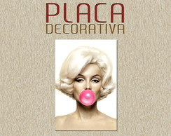 PLACA DECORATIVA - MERILYN 04