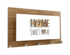 Porta Chaves e Cartas Home Sweet Home