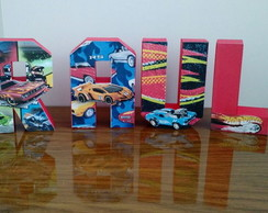 Letras 3D decorada