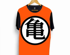Camiseta Dragon Ball Z Logo Nerd 41