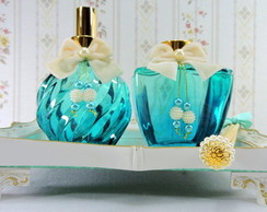 Kit Aroma Tiffany Home Spray Aromatizador de Varetas Bandeja