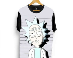 Camiseta Rick And Morty Cartoon Adult Swim Desenho Série L6
