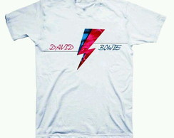 Camiseta estampada David Bowie
