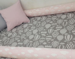 Kit Montessoriano Mini Cama Junior Rosa