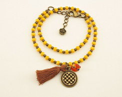 Pulseira Boho Colors - Yellow
