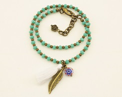 Pulseira Boho Colors - Green