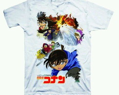 Camiseta estampada Detetive Conan