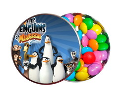 Kit 30 Latinhas Personalizadas Pinguins de Madagascar
